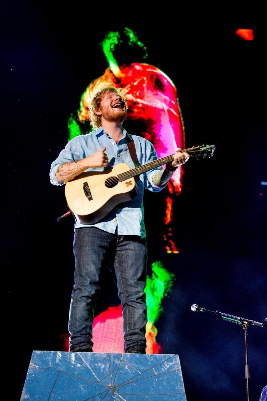 Ed Sheeran @ AAMI Park 2015 (2)
