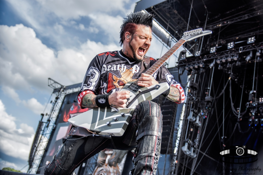 Five Finger Death Punch Download Festival 2017