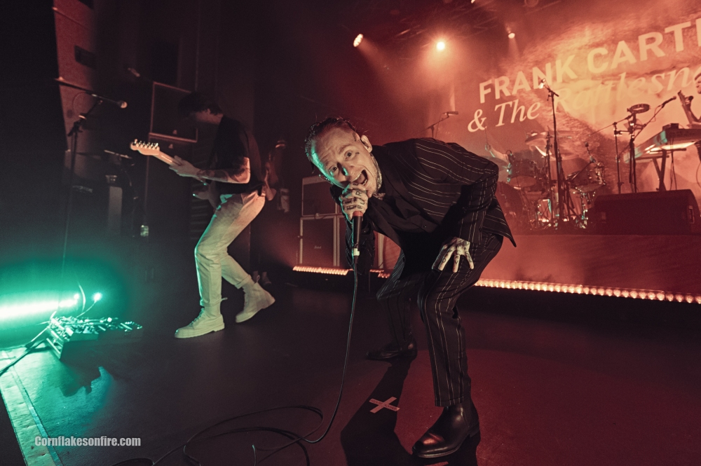 Frank Carter & The Rattlesnakes at Academy 2, Manchester UK - Mar 17th 2017