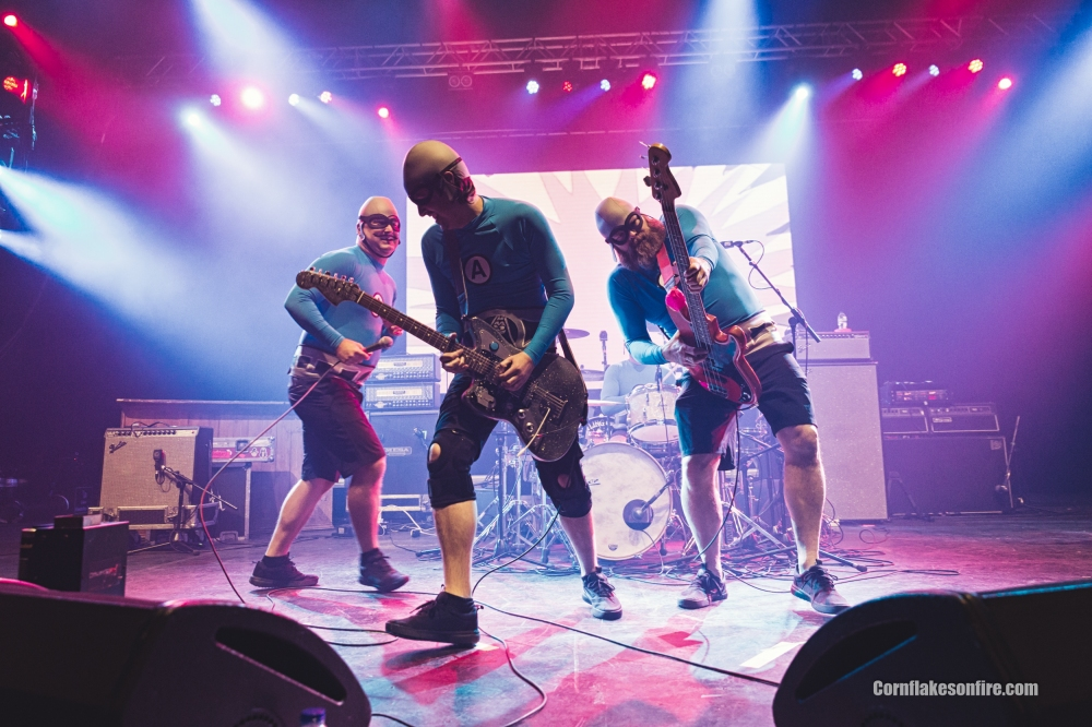 The Aquabats! in concert at O2 Apollo, Manchester, UK - 15 Feb 2018